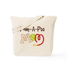 Pom-A-Poo Dog Mom Tote Bag