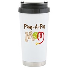 Pom-A-Poo Dog Mom Travel Mug