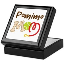 Pomimo Dog Mom Keepsake Box
