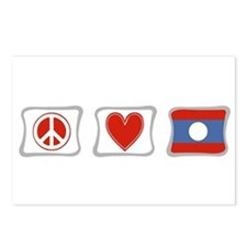 Peace, Love and Laos Postcards (Package of 8)