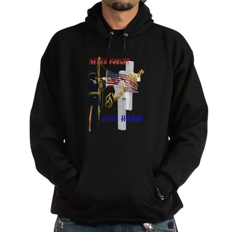 My Memorial Day Soldier-Trans.png Hoodie (dark)