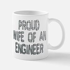 Proud Wife of an Engineer 2 Small Mugs