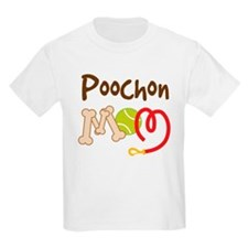 Poochon Dog Mom T-Shirt