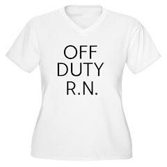 Off Duty RN T-Shirt