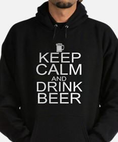 Keep Calm and Drink Beer Hoodie