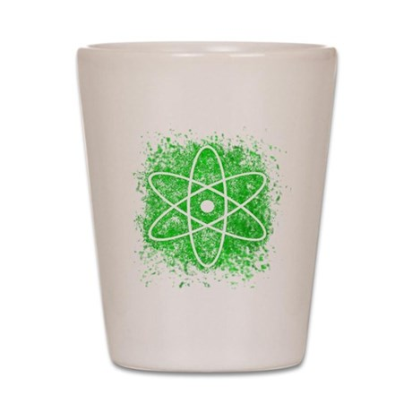 Cool Nuclear Splat Shot Glass