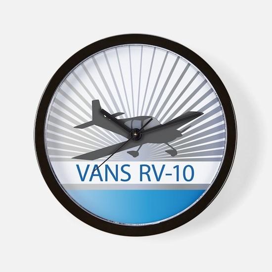 Aircraft Vans RV-10 Wall Clock