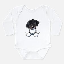 Pocket Havanese Long Sleeve Infant Bodysuit