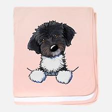 Pocket Havanese baby blanket