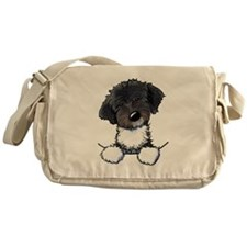 Pocket Havanese Messenger Bag