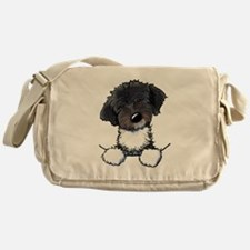 Pocket Havanese Messenger Bag