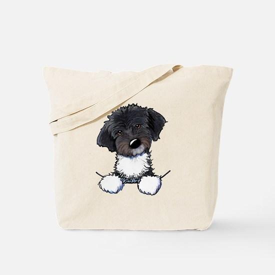 Pocket Havanese Tote Bag