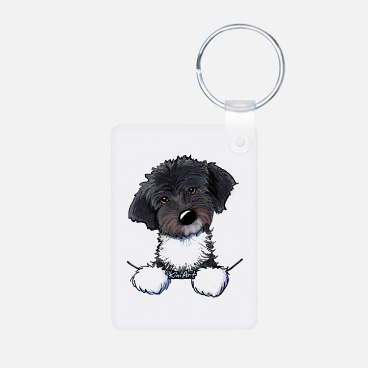 Pocket Havanese Aluminum Photo Keychain