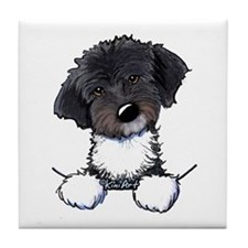 Pocket Havanese Tile Coaster