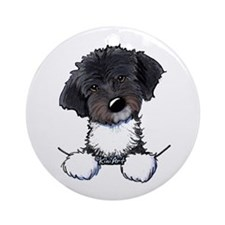 Pocket Havanese Ornament (Round)