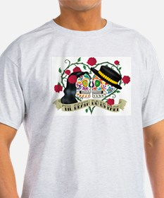 Day Of The Dead Wedding T-Shirt
