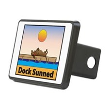 Dock Sunned Dachshund Hitch Cover