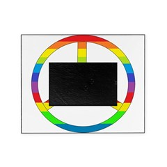 peace rainbow.png Picture Frame