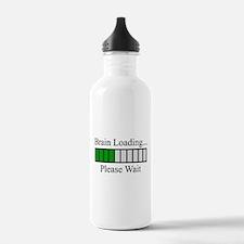 Brain Loading Bar Water Bottle