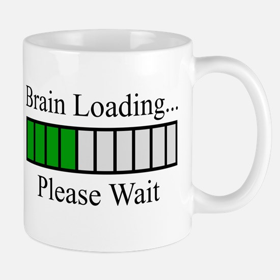 Brain Loading Bar Mug