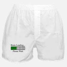 Brain Loading Bar Boxer Shorts