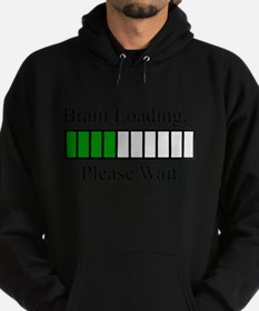 Brain Loading Bar Hoodie (dark)
