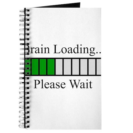 Brain Loading Bar Journal