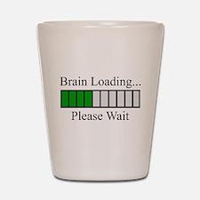 Brain Loading Bar Shot Glass