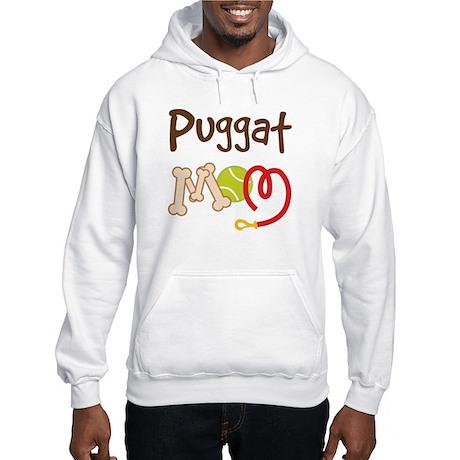 Puggat Dog Mom Hooded Sweatshirt