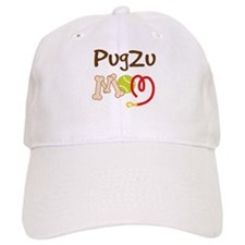 PugZu Dog Mom Baseball Cap