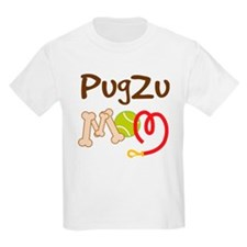 PugZu Dog Mom T-Shirt