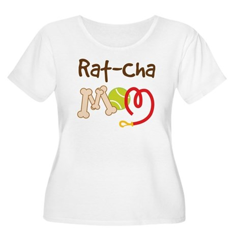 Rat-Cha Dog Mom Women's Plus Size Scoop Neck T-Shi