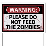 Zombie Yard Signs