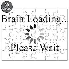 Brain Loading Circle Puzzle