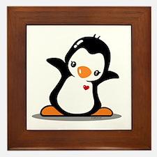 Hey Penguin! Framed Tile