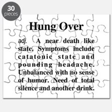 The Definition of Hungover Puzzle