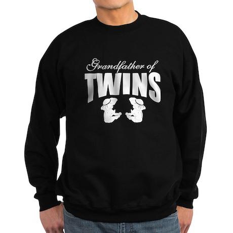grandfather of twins Sweatshirt (dark)