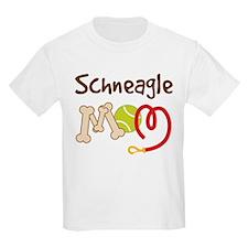 Schneagle Dog Mom T-Shirt