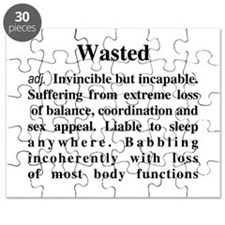 The Definition Of Wasted Puzzle