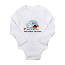 stork baby de2 Body Suit