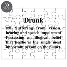 The Definition Of Drunk Puzzle