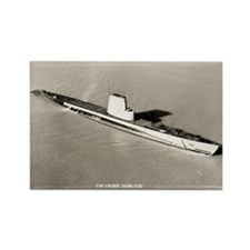 USS CHARR Rectangle Magnet