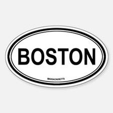 Boston (Massachusetts) Oval Decal