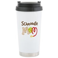 Schnoodle Dog Mom Travel Coffee Mug