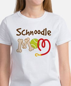 Schnoodle Dog Mom Women's T-Shirt