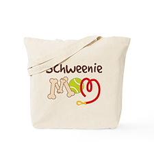 Schweenie Dog Mom Tote Bag