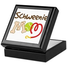 Schweenie Dog Mom Keepsake Box