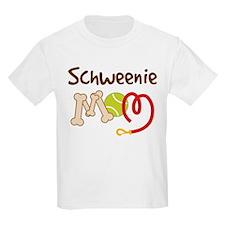 Schweenie Dog Mom T-Shirt