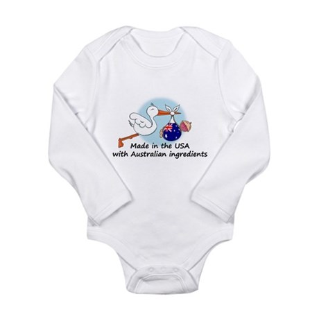 stork baby austr 2 Body Suit