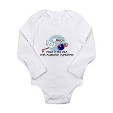 stork baby austr 2 Body Suit